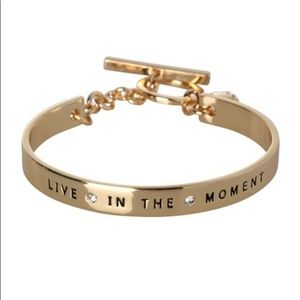 NWT BCBGeneration Gold Toggle Bracelet